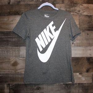 Nike Athletic Cut Tee Gray